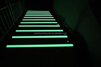 Good Aluminum Glow In Dark Step Nosing, Stair Nosing, Step Strips