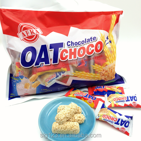 10g Halal OAT choco chocolate and milk mixed in a pack rich in fiber lower cholesterol