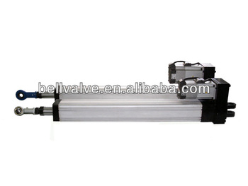 Linear actuator with servo motors for motion platform for Servo motor linear actuator