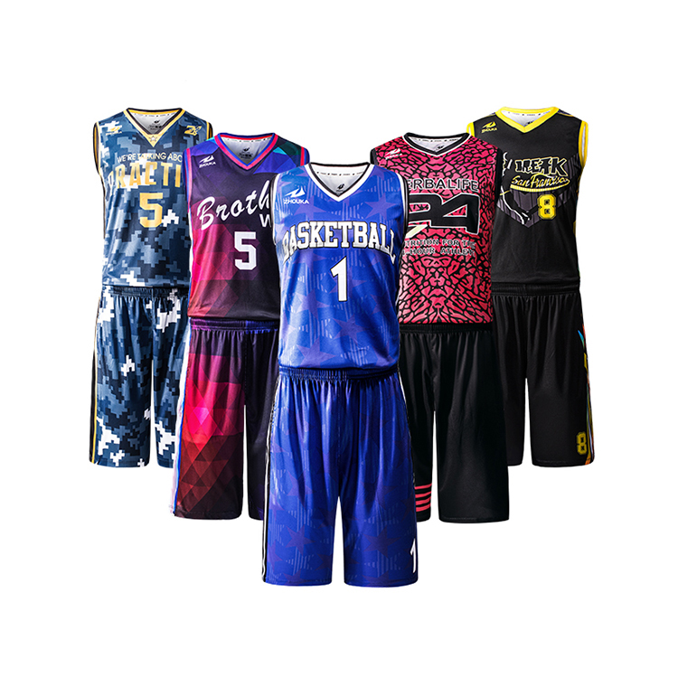 China Wholesale Latest Best Unique Basketball Jersey