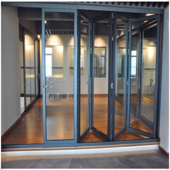 Thermal Broken Aluminum Folding Doors/ Bi Fold Patio Door - Buy ...