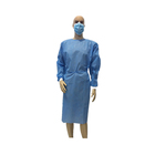Blue Examination Disposable Isolation Gown Embossed Cpe Gowns