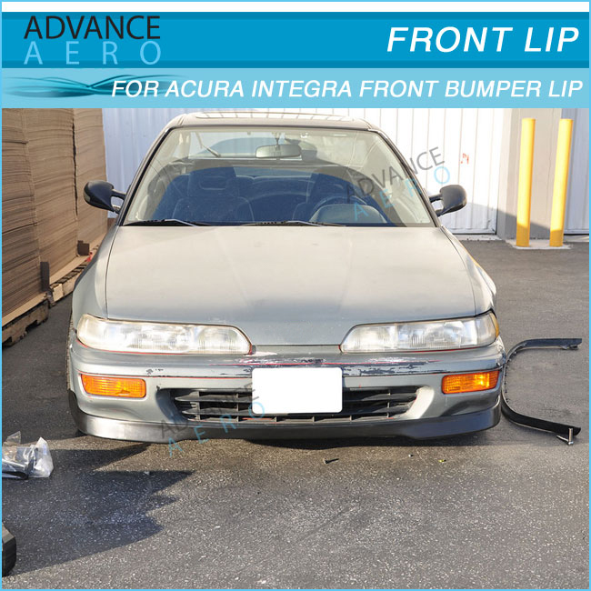92 93 For Acura Integra T R Style Pu Front Lip Auto Parts