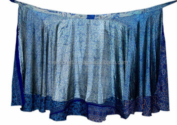 baf4f6d6d90 sexy girls wearing mini floral skirts - Online Wholesale Silk Mini skirt -  Wrap around silk