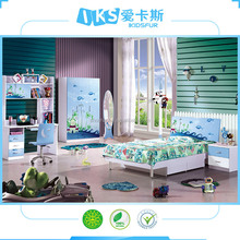 a barato nios muebles de dormitorio moderno fija para al por mayor