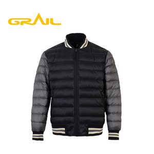 Online shopping soft warm european nylon foldable down jacket for men clothing