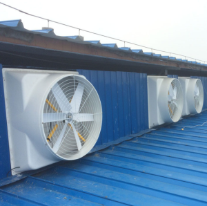 Best quality hot air exhaust and glass steel horn fan pressure fan