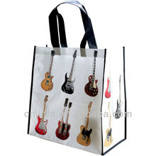 High quality Non woven OPP lamination bag Guitar
