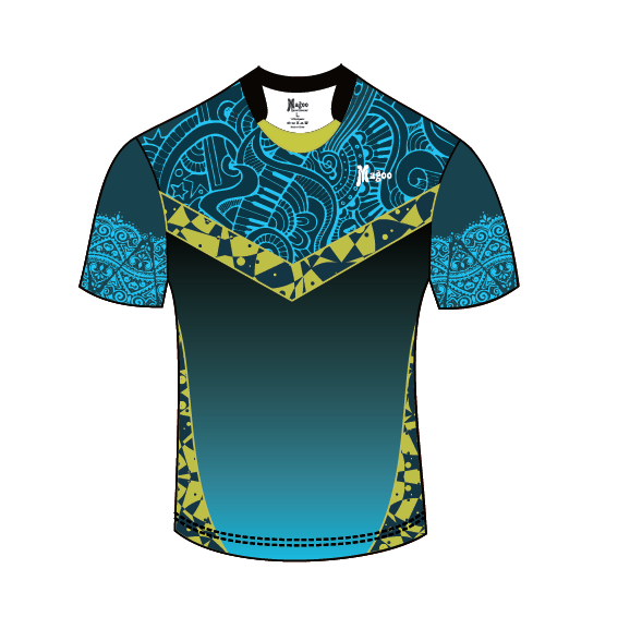 High Quality sublimation Custom blue sport wear rugby uniforms men's OEM rugby kits rugby shirts jersey фото