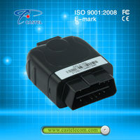Bluetooth ready GPS car tracker/gps tracking system/OBD tracker gps truck tracking device