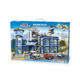 Prison Break! kid's Police Station game toy transform machine legoes type blocks sets box