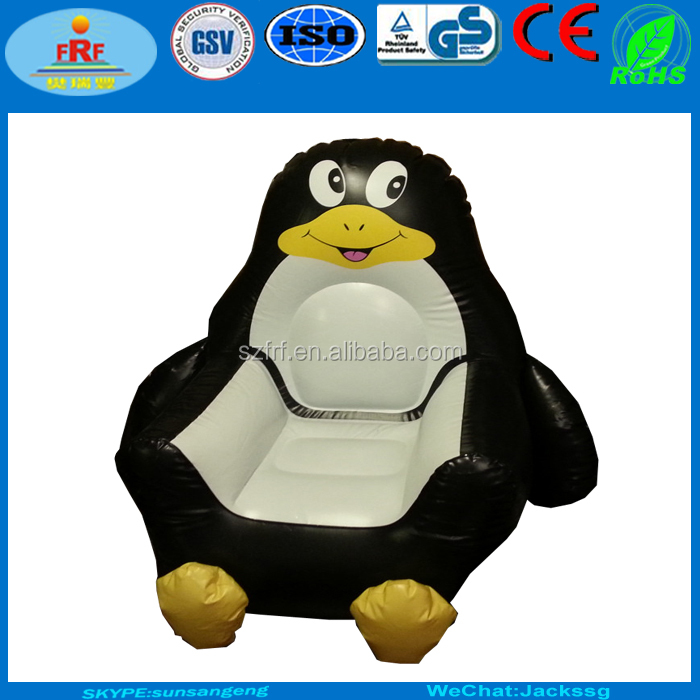Inflatable penguin Shape Sofa, Inflatable penguin chair
