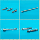 non standard stainless steel worm shaft