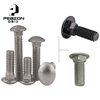Factory Direct Round Head Square Neck Carriage Bolts And Nuts Hardware Fastener Customization