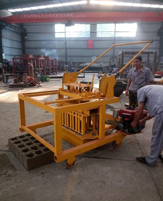 Jc4-45 Doubell Machines Diy M6 Block Making Machine Price