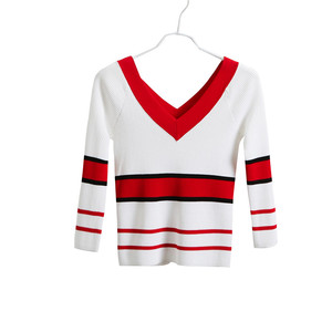 Hot selling Color Striped sweater manufacturer