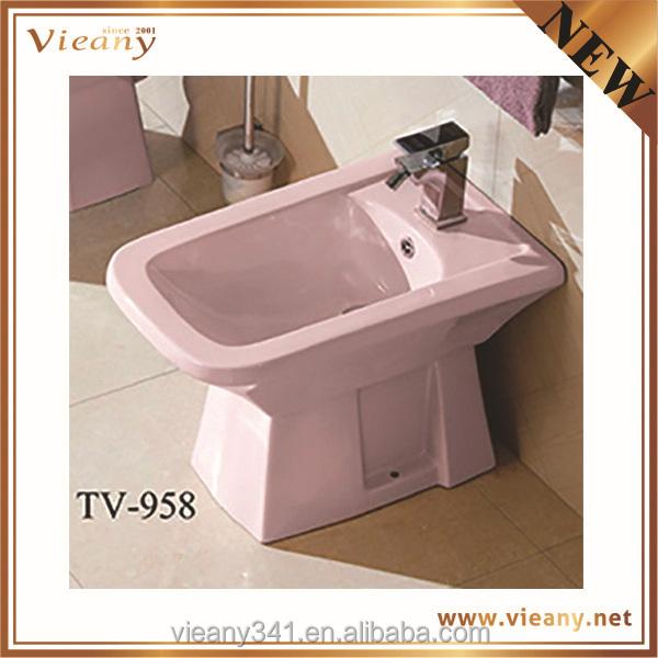 Modernen italienischen design rosa farbe boden badewanne ...