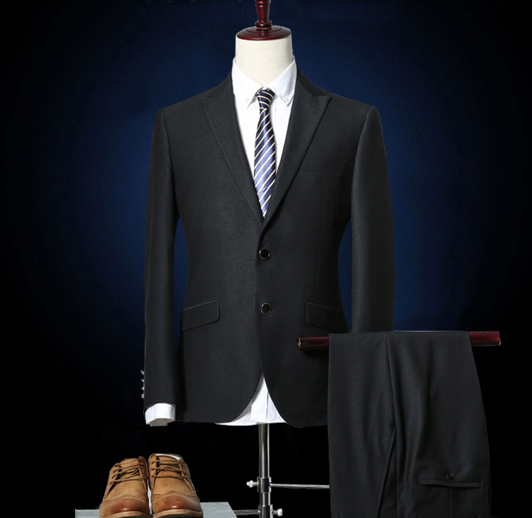 classic England style business formal suits men
