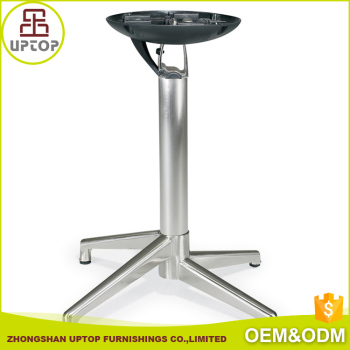 Outdoor Furniture Cast Aluminum Table Base Aluminum Folding Table - Outdoor table legs and bases
