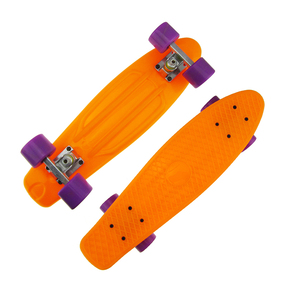 Deck size 27*7.5inch PP material pu wheels parts longboard type skateboard