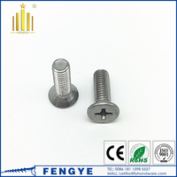 M3 Cross Recessed Flat Countersunk Head Machine Screw