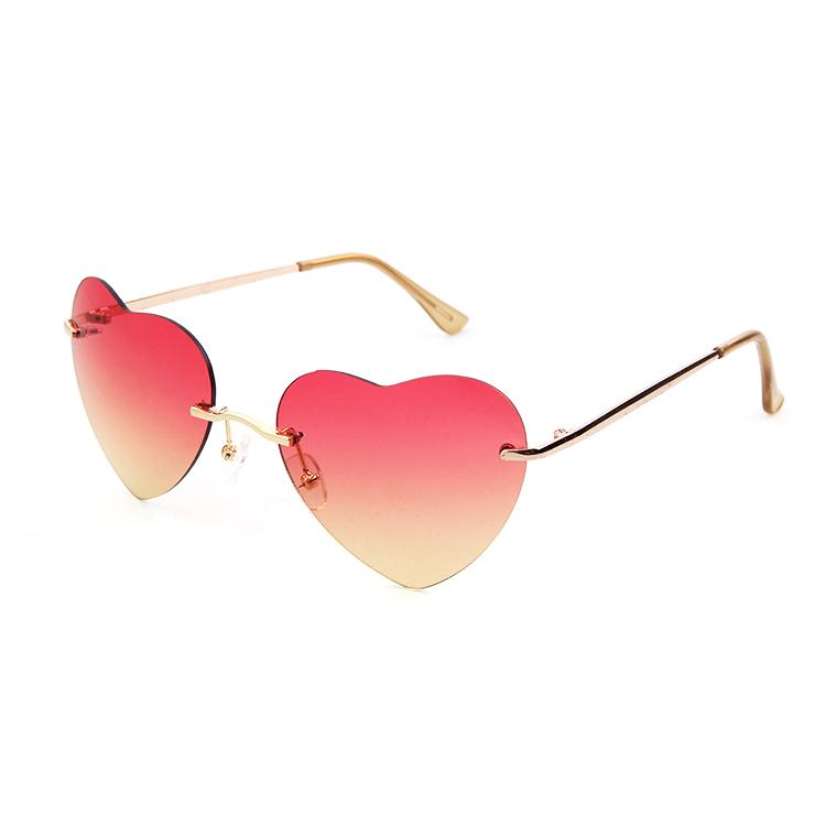 oculos coracao óculos de sol estilo 2014 venda quente nova moda feminina  menino óculos 6ebd31c1ee