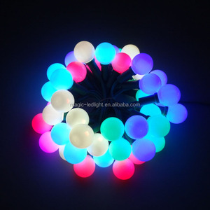 Outdoor Wireless control AC110V/AC220V addressable RGB LED christmas lights