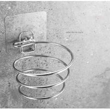 1 шт., модная стойка для фена, настенный держатель, полка для хранения, крючки для ванной комнаты, органайзер для волос, сушилка для волос, сто...(Китай)
