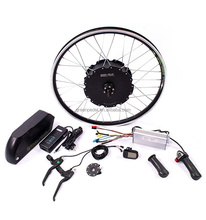 Greenpedel bargain price 48v 1500w 2000w 3000w electric bike motor conversion kit with battery 5000w