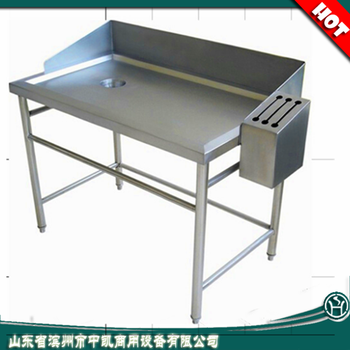 Exceptionnel Supermarket Used Stainless Steel Fish Cleaning Table With Head Board   Buy  Fish Cleaning Table,Stainless Steel Fish Cleaning Table,Sink Table With ...
