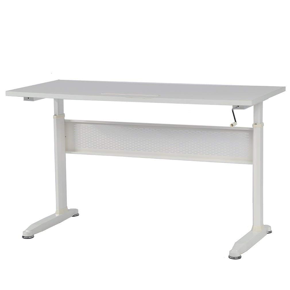 Standing Desk Adjustable Height Desk Stand Up Desk Sit Stand Desk For Laptop And Monitor,55""