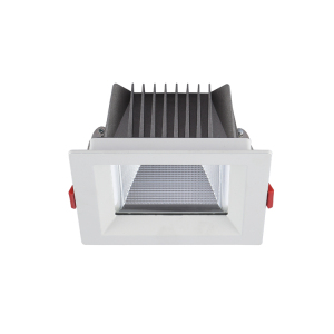 "Quality-assured cob 15w 20w 4"" architectural square led recessed downlight"