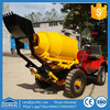 GT80 cement mixer diesel engine / concrete mixer with loader