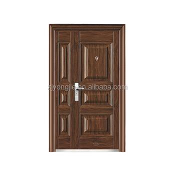 modern style exterior steel son mother door pricebest design - Modern Exterior Metal Doors
