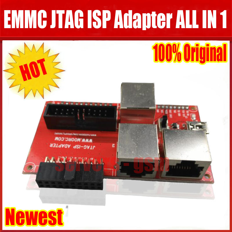 Newest Original JTAG ISP Adapter ALL IN 1 For RIFF EASY JTAG