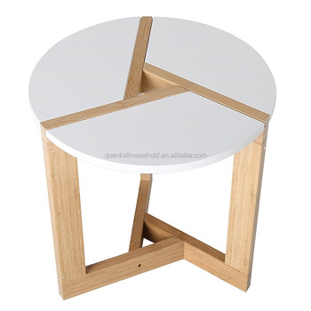 Bamboo Coffee End Table Round Modern Living Room Tabletop Buy Coffe End Tables Modern Round Nesting Coffee Tables Bamboo Snack Table Product On