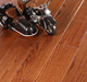 Fudeli Solid Ukrain oak timber hardwood flooring (Smoked)