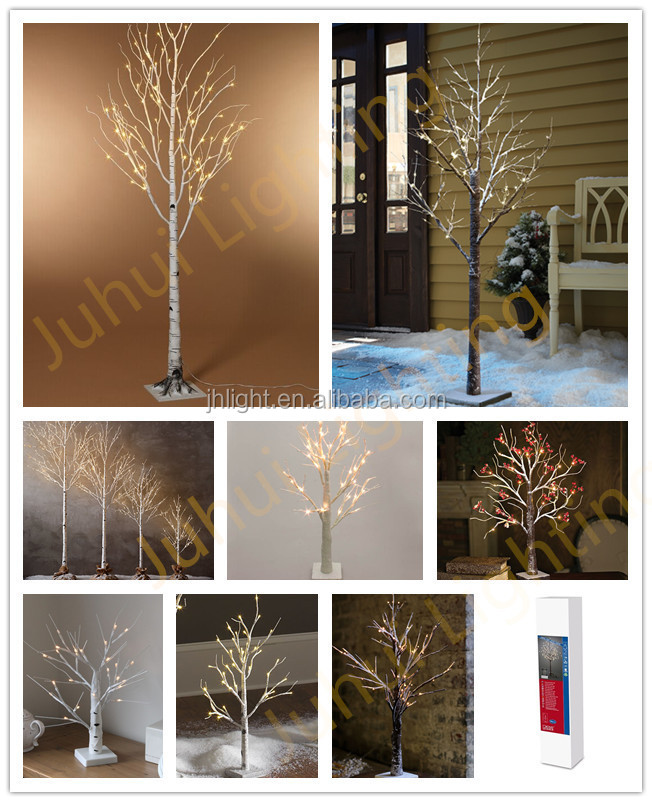 Led Warm White Decorative Tree Branch Lights Christmas Indoor Decoration