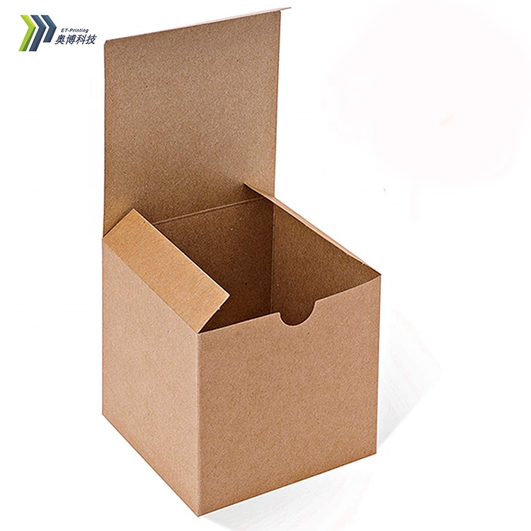 Wholesale custom cardboard water mark cup gift box custom paper for Christmas gift.