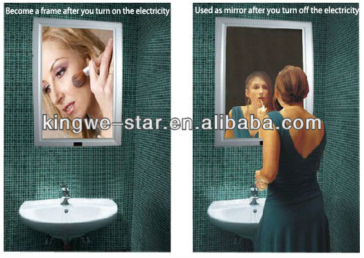 Hotel picture magic mirror led