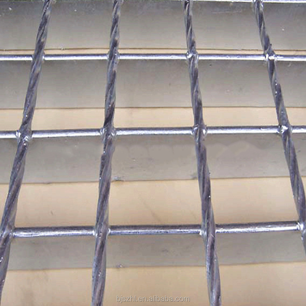 High quality Rebar Stainless Steel Floor Grating Grid plate