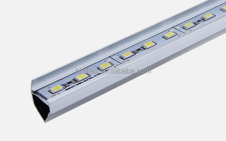 12v smd 5730 72leds cool white aluminium profile led strips
