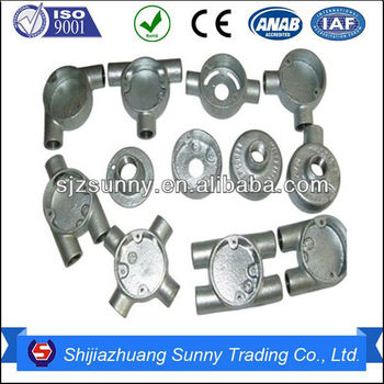 electrical lateral gi conduit fittings accessories on promotion