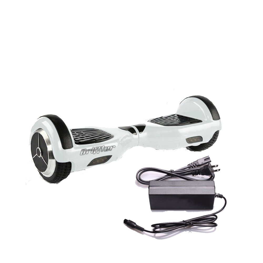 "Drifft White 6.5"" UL 2272 Certified Hoverboard - Electric Self-Balancing Scooter"