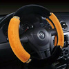 YDSH-030 ORANGE WOOL WARM 2016 CAR STEERING WHEEL COVER