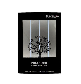 Rainbow imagem de teste óculos polarizados cartão de teste polarizada com  Display de Papelão (BK b8436161d3