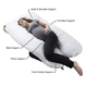 Back Support Full Body U Shape Pregnancy Pillow Pregnant Pillow With Memory Foam