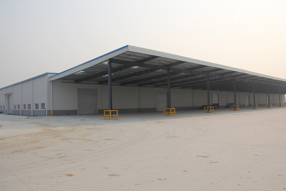 metal steel storage warehouse building