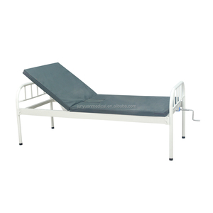 top selling one crank hospital bed metal medical bed