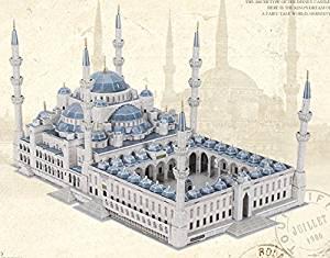 Buy Turkey Blue Mosque 3d Puzzle Model 321piece Cultivate Childrens